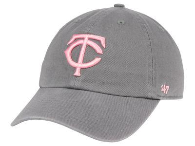 newest d2ed4 1ba40 ... promo code for minnesota twins 47 mlb dark gray pink 47 clean up cap  lids 63641