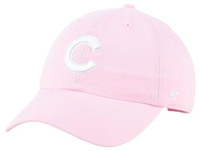 Chicago Cubs  47 MLB Pink  47 CLEAN UP Cap  15df67ba048