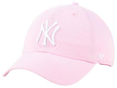 New York Yankees  47 MLB Pink  47 CLEAN UP Cap  b3ebe15478a