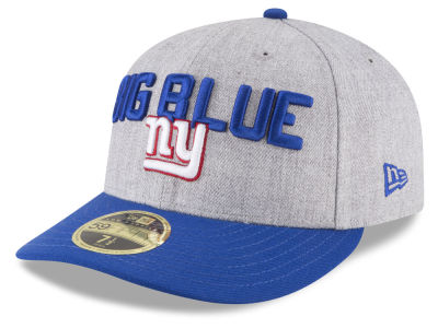 New York Giants New Era 2018 NFL Draft Low Profile 59FIFTY Cap ... 2332234338d