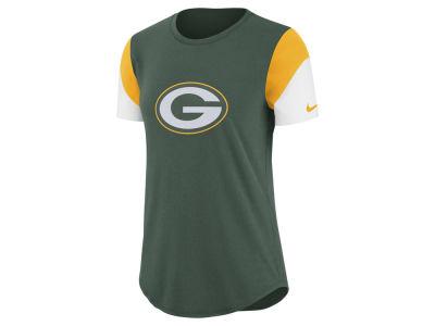 4880c6640 Green Bay Packers Nike NFL Women's Tri-Fan T- Shirt at Lids in Mcallen