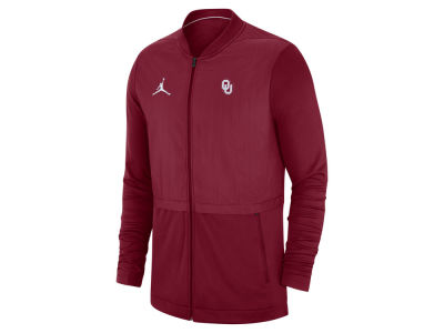 2de956fb71ed Oklahoma Sooners Jordan NCAA Men s Elite Hybrid Full Zip Jacket ...