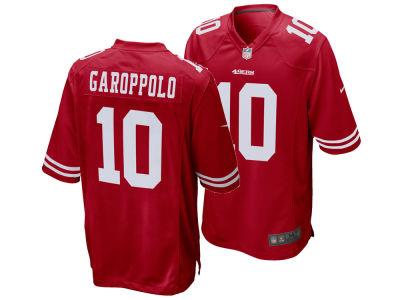9f6a49f9079 reduced san francisco 49ers jimmy garoppolo nike nfl mens game jersey lids  7b23a b3952