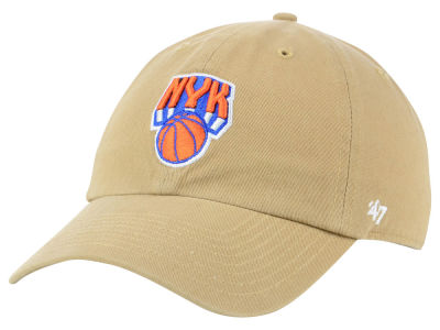 New York Knicks  47 NBA Mashup  47 CLEAN UP Cap  47c50563b6e