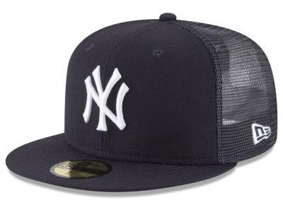 b1e2ee94188 New York Yankees New Era MLB On-Field Mesh Back 59FIFTY Cap