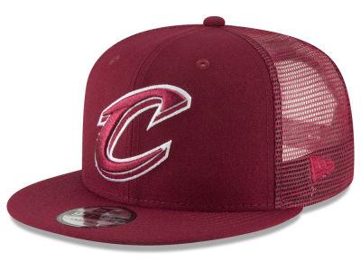 7e9b25dfd49 Cleveland Cavaliers New Era NBA Almost Tonal Trucker 9FIFTY Snapback Cap