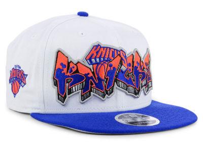 New York Knicks New Era NBA Retro Word 9FIFTY Snapback Cap  37ca2a2fa7b