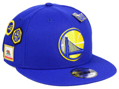 Golden State Warriors New Era 2018 NBA On-Court Collection 9FIFTY Snapback  Cap  ba3ed43a176