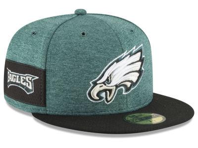 1b08896ae3b Philadelphia Eagles New Era 2018 Official Nfl Sideline Home 59fifty