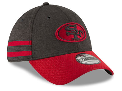 6929562be6f san francisco 49ers new era 2018 official nfl sideline home 39thirty cap  tuggl