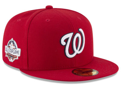 9844e703e37383 Washington Nationals New Era 2018 MLB Washington All Star Game Patch  59FIFTY Cap | Tuggl