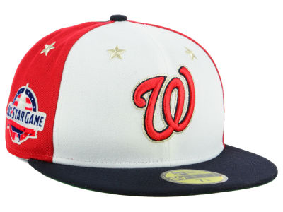 Washington Nationals New Era 2018 MLB All Star Game Patch 59FIFTY Cap  860e930b12a