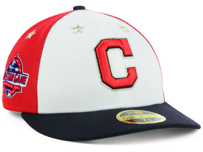 new york 0b8c7 32b8e ... sweden cleveland indians new era 2018 mlb all star game patch low  profile 59fifty cap lids