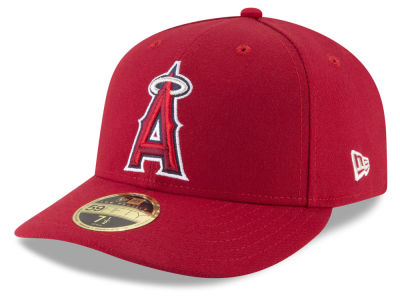 3ab6928a3d2a83 ... cheap los angeles angels new era mlb low profile ac performance 59fifty  cap lids fa255 75ade