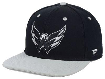 Washington Capitals NHL Blackout Emblem Snapback Cap  a1a11f31cd7