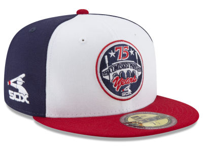 big sale e6a02 c9613 Chicago White Sox New Era MLB Ultimate Patch Collection Front 59FIFTY Cap    lids.com
