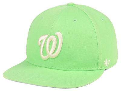 Washington Nationals  47 MLB Island Snapback Cap  00fa55b7160