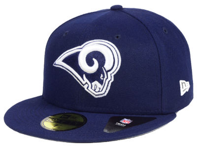 Los Angeles Rams New Era NFL Team Basic 59FIFTY Cap  da372cf50
