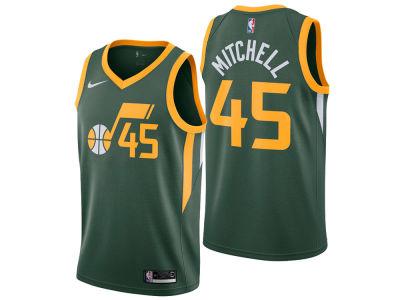 Utah Jazz Donovan Mitchell Nike 2018 NBA Men s Earned Edition Swingman  Jersey  5bfa8d1a0