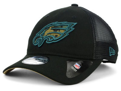ca0b142aae8 Philadelphia Eagles New Era NFL Camo Service Patch 9TWENTY Trucker Cap