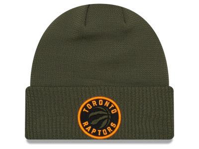 Toronto Raptors New Era NBA Tip Pop Cuffed Knit  34a13173328