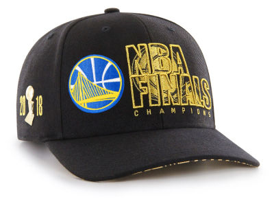 Golden State Warriors  47 2018 NBA Pintrill Champ Cap  128426220