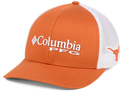 Texas Longhorns Columbia NCAA PFG Stretch Cap  25480c0e488