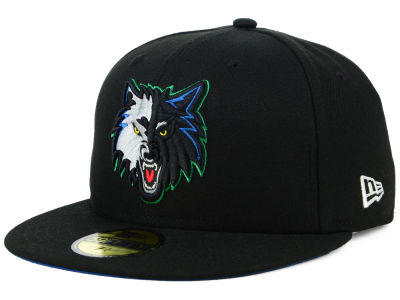 Minnesota Timberwolves New Era NBA Hardwood Classic Nights 59FIFTY Cap  b2d5dfba807
