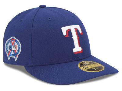 af140d85fc5 Texas Rangers New Era 2018 MLB 9-11 Memorial Low Profile 59FIFTY Cap ...