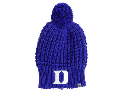 Duke Blue Devils Top of the World NCAA Women s Slouch Pom Knit ... 081a2ffc538
