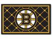 Boston Bruins Fan Mats 4x6 Area Rug