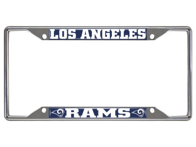 Los Angeles Rams Fan Mats License Plate Frame Lids Com
