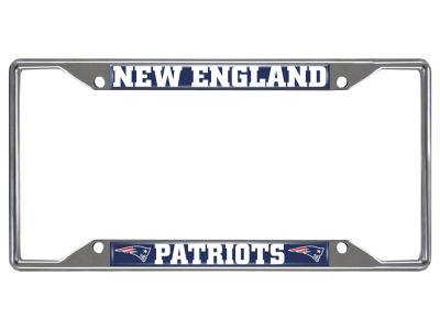 New England Patriots Fan Mats License Plate Frame Lids Com