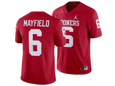 Oklahoma Sooners Baker Mayfield Nike NCAA Men's Player Game Jersey