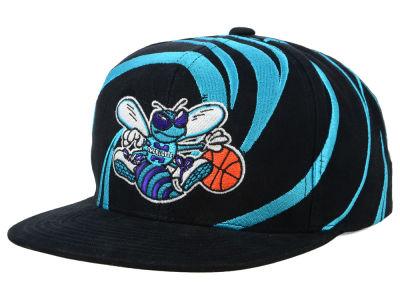 Charlotte Hornets Mitchell   Ness NBA Hurricane Snapback Cap  7a38460d2d7