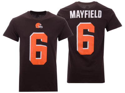 Cleveland Browns Baker Mayfield Nike NFL Men's Eligible Receiver III T-Shirt
