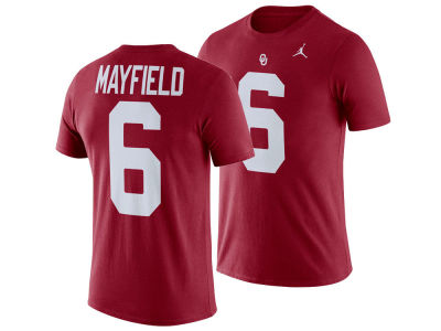 Oklahoma Sooners Baker Mayfield Jordan NCAA Youth Future Star T-Shirt
