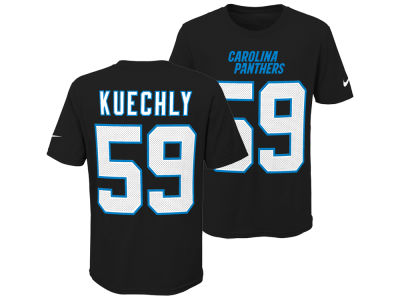 3737c9fad Carolina Panthers Luke Kuechly Nike NFL Youth Pride Name and Number 3.0 T- Shirt