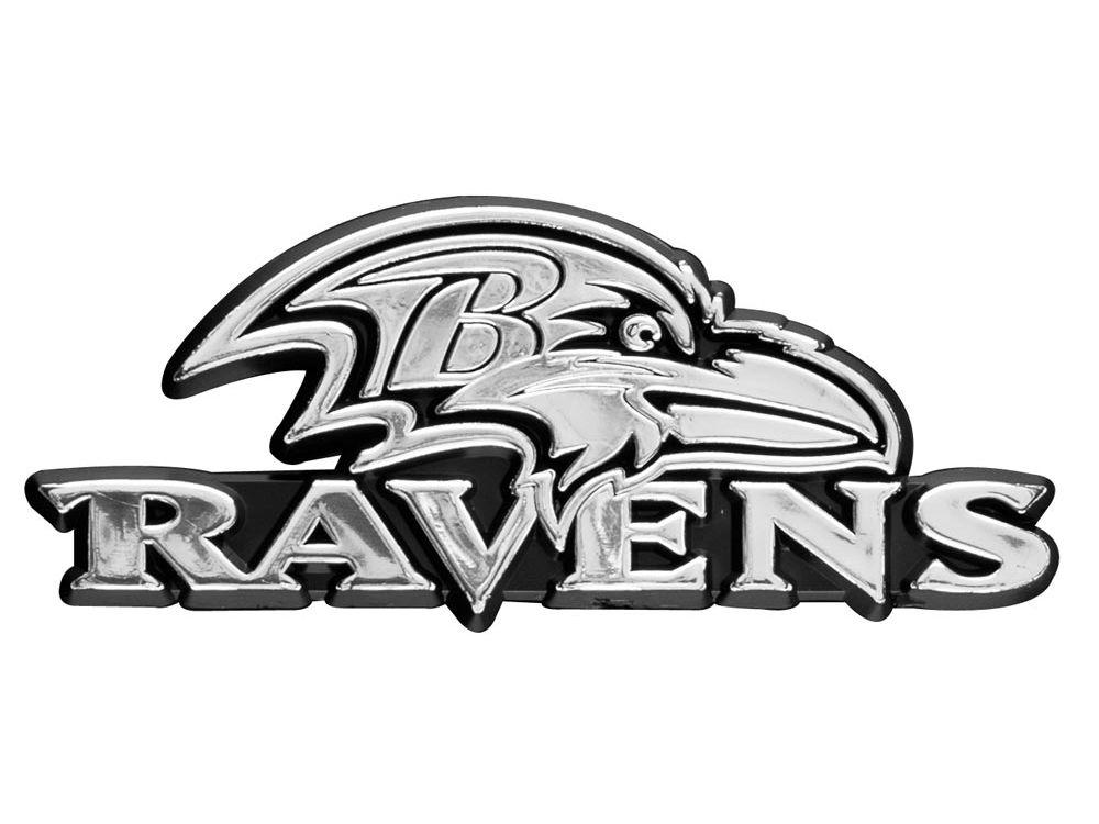 Baltimore Ravens Auto Emblem | lids.com