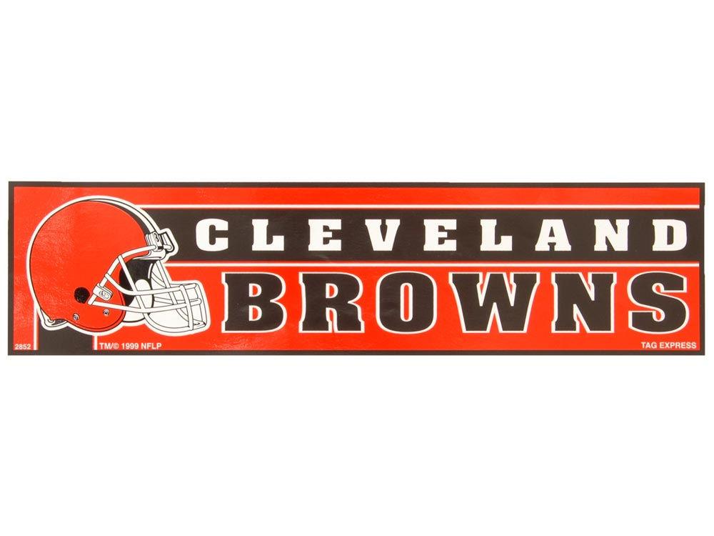 Cleveland browns bumper sticker