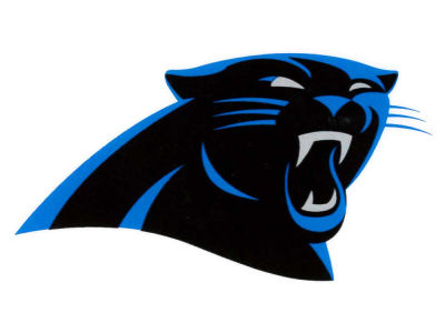 Carolina panthers static cling decal