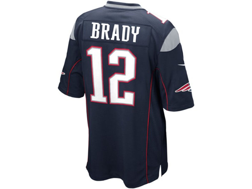 New England Patriots Tom Brady Nike NFL Youth Game Jersey | lids.com