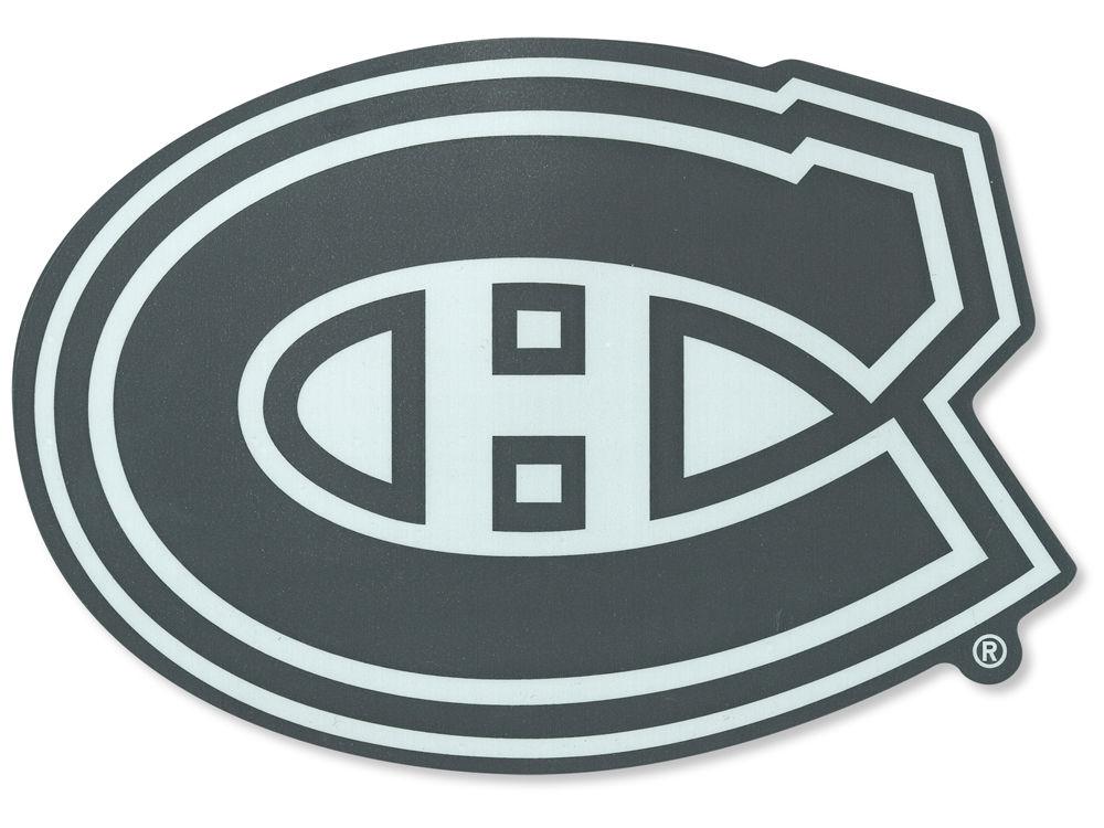 Montreal canadiens die cut decal 8