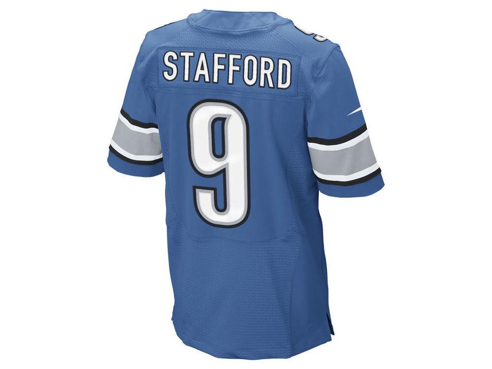 nfl Detroit Lions Matthew Stafford GAME Jerseys