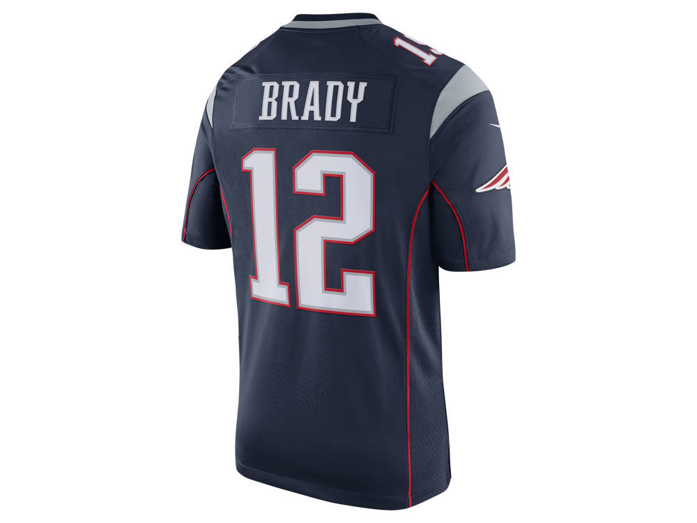 New England Patriots Tom Brady Nike NFL Men's Limited Jersey ...