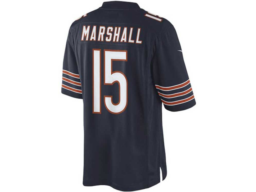 Chicago Bears Brandon Marshall Nike NFL Men's Limited Jersey ...