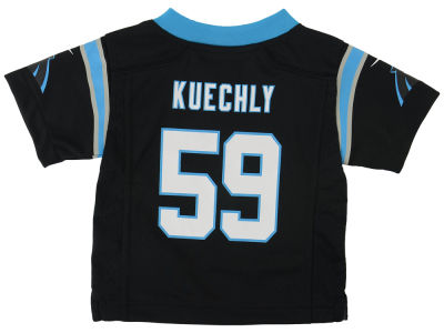 NFL Jersey's Nike Toddler Carolina Panthers Customized Team Color Game Jersey
