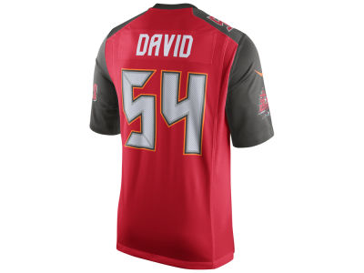 NFL Jersey's Infant Tampa Bay Buccaneers Lavonte David Nike Red Team Color Game Jersey