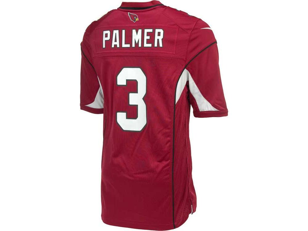 NFL Jersey's Men's Arizona Cardinals Carson Palmer Nike White Game Jersey