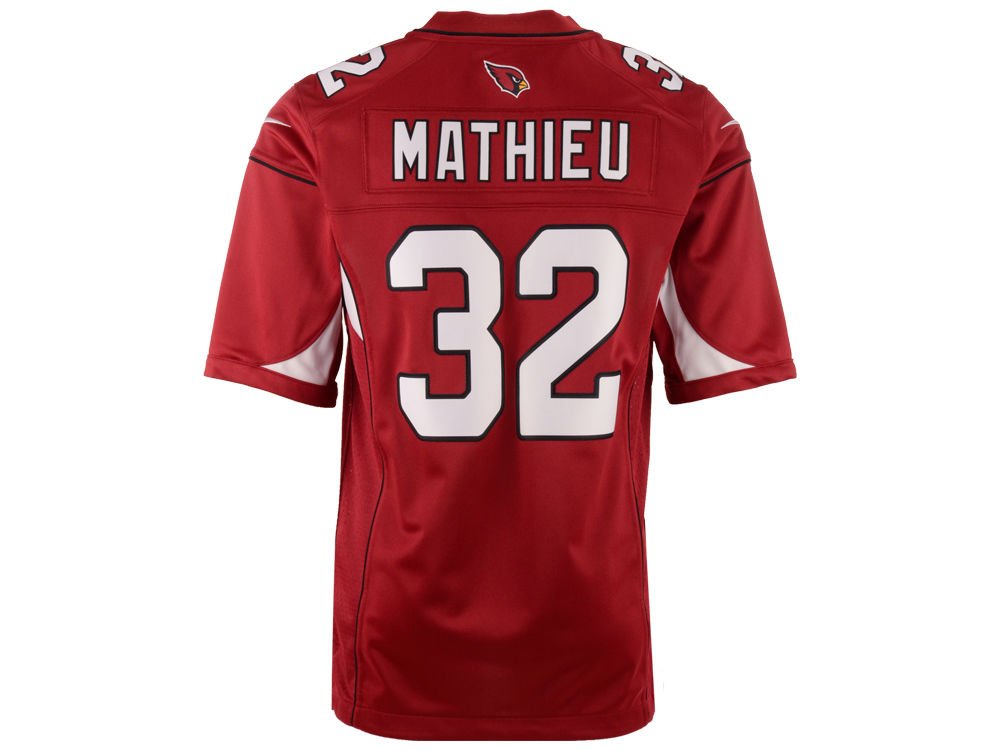 NFL Jersey's Men's Arizona Cardinals Tyrann Mathieu Nike Cardinal Team Color Limited Jersey